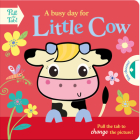 A busy day for Little Cow (Push Pull Stories) Cover Image