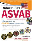 McGraw-Hill's ASVAB: Armed Services Vocational Aptitude Battery [With CDROM] Cover Image