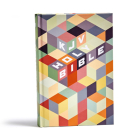 KJV Kids Bible, Hardcover: Easy to Use, Red Letter, Ribbon Marker, Study Helps for Children, Smythe-Sewn, Large Print Font Size Cover Image