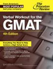 Verbal Workout for the GMAT, 4th Edition (Graduate School Test Preparation) Cover Image
