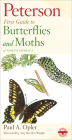 Peterson First Guide to Butterflies and Moths Cover Image