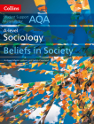 Collins Student Support Materials – AQA A Level Sociology Beliefs in Society Cover Image