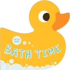 Bath Time: Lift-the-Flap Board Book Cover Image