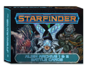 Starfinder Alien Archive 1 & 2 Battle Cards Cover Image