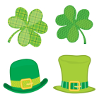 St. Patrick's Day Mini Cut-Outs Cover Image