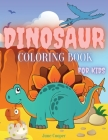 Dinosaur Coloring Book for Kids: Great Gift for Boys & Girls Coloring Book for Kids Ages 4-8 Cover Image