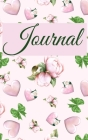 Journal For Her- Pink Flowers and Hearts Hardcover 122 pages 6X9 Inches Cover Image