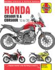 Honda CB500F/X & CBR500R: 2013 to 2020 (Haynes Service & Repair Manual) Cover Image