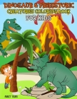 Dinosaur & Prehistoric Creatures Coloring Book For Kids: Dinosaur coloring Book for kids ages 3-8, Boys or Girls, with 50 High Quality Illustrations o (Kid's Coloring Book #2) Cover Image