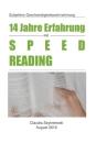 14 Jahre Erfahrung mit Speed Reading: Subjektive Geschwindigkeitswahrnehmung Cover Image