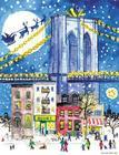 Michael Storrings Brooklyn Bridge Holiday Embellished Notecards Cover Image