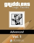 Griddlers Logic Puzzles Advanced Vol. 1 Cover Image