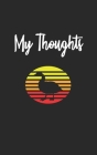 My Thoughts: Duck Retro And Vintage Style 100 Pages Lined Diary And Notebook Cover Image