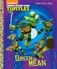 Green Vs. Mean (Teenage Mutant Ninja Turtles) (Little Golden Book) Cover Image