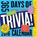 365 Days of Amazing Trivia! Page-A-Day Calendar 2016 Cover Image