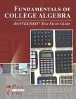 Fundamentals of College Algebra DANTES/DSST Test Study Guide Cover Image