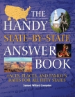 The Handy State-By-State Answer Book: Faces, Places, and Famous Dates for All Fifty States (Handy Answer Books) Cover Image