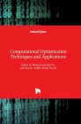 Computational Optimization Techniques and Applications Cover Image