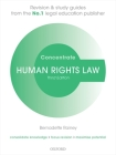 Human Rights Law Concentrate: Law Revision and Study Guide Cover Image