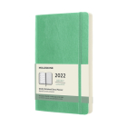 Moleskine 2022 Weekly Planner, 12M, Large, Ice Green, Soft Cover (5 x 8.25) Cover Image