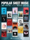 Popular Sheet Music: 30 Hits from 2017-2019 Arranged for Piano/Vocal/Guitar Cover Image