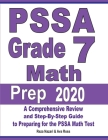PSSA Grade 7 Math Prep 2020: A Comprehensive Review and Step-By-Step Guide to Preparing for the PSSA Math Test Cover Image