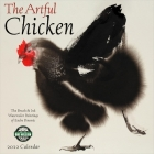 Artful Chicken 2022 Wall Calendar: Brush & Ink Watercolor Paintings Cover Image