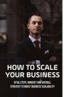 How To Scale Your Business: Vital Steps, Mindset And Overall Strategy To Boost Business Scalability: How To Get Clients For A New Business Cover Image