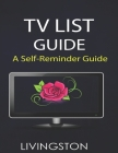 TV List Guide: TV Show Tracker Program Viewing Guide Printable Insert Netflix Watch List Printable Insert Organise Foxy Fix No Cover Image