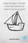 Setze Die Segel Mit Mut, Dann Bestimmst Du Wohin Die Reise Geht: A5 Notizbuch LINIERT Tagebücher - Erwachsene - Gedichte - Poesie - Philosophie - Aliv Cover Image