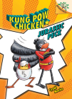 Jurassic Peck: A Branches Book (Kung Pow Chicken #5) (Library Edition) Cover Image