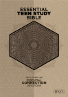 The NKJV Essential Teen Study Bible, Gray Cork LeatherTouch Cover Image