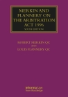 Merkin and Flannery on the Arbitration ACT 1996 (Lloyd's Arbitration Law Library) Cover Image