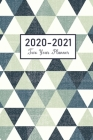 2020-2021 Monthly Planner: 24 Months Agenda Pocket Planner with Holiday - 2 Year Calendar 2020-2021 Monthly - Academic Schedule Organizer Logbook Cover Image