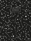 Notebook: Constellation Star Map Campus Notebook 8.5 x 11 (College Ruled) Cover Image