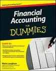 Financial Accounting for Dummies Cover Image