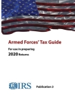 Armed Forces' Tax Guide - Publication 3 (For use in preparing 2020 Returns) Cover Image