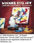 Wiener Dog Art (Far Side #15) Cover Image