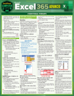 Microsoft Excel 365 Advanced: A Quickstudy Laminated Reference Guide Cover Image