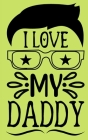 I love you, Daddy - Fill in the blank book with prompts for kids Cover Image