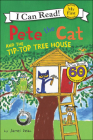 Pete the Cat and the Tip-Top Tree House (I Can Read!: My First Shared Reading) Cover Image