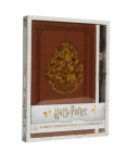 Harry Potter: Hogwarts Hardcover Journal and Elder Wand Pen Set Cover Image