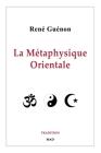 La Métaphysique Orientale Cover Image