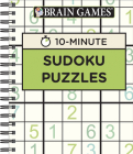Brain Games - 10 Minute: Sudoku Puzzles (Green) Cover Image