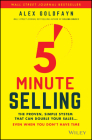 5-Minute Selling: The Proven, Simple System That Can Double Your Sales ... Even When You Don't Have Time Cover Image