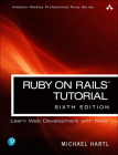Ruby on Rails Tutorial (Addison-Wesley Professional Ruby) Cover Image