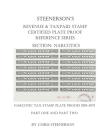 Steenerson's Revenue & Taxpaid Stamp Certified Plate Proof Reference Series - Narcotics Cover Image