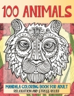 Mandala Coloring Book for Adult Relaxation and Stress Relief - Animal Cover Image