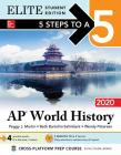 5 Steps to a 5: AP World History: Modern 2020 Elite Student Edition Cover Image