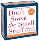 Don't Sweat the Small Stuff... 2019 Day-to-Day Calendar Cover Image